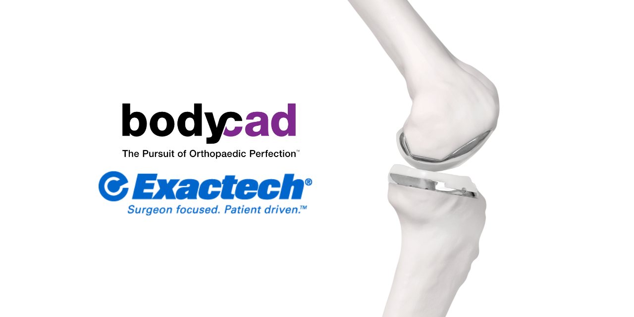 Exactech and Bodycad Sign Exclusive Distribution Agreement