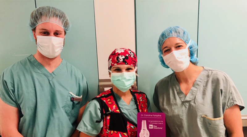 First case of BC Fine Osteotomy™ in Canada